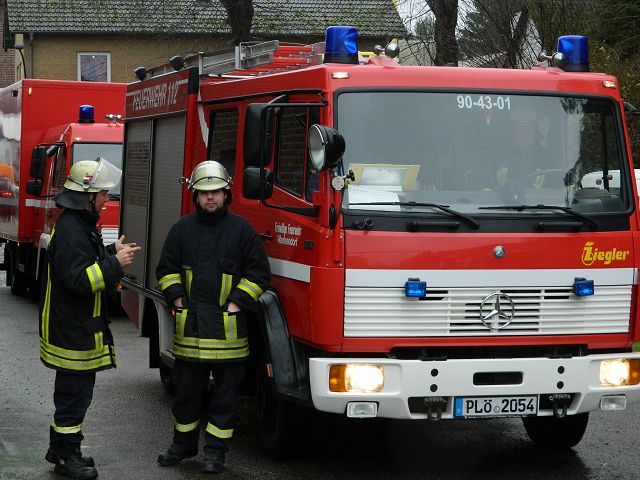 FEU 00, privater Rauchmelder , Einsatzabruch für FF Wankendorf